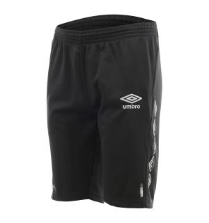 UMBRO UX-1 Long Shorts jr Sort 116 Teknisk lang treningsshorts